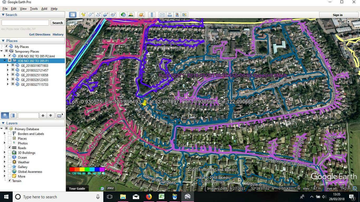 gps tracking example image for leaflet distribution service