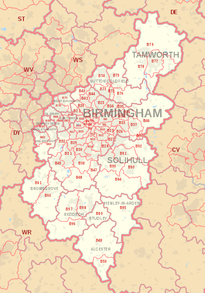 100% GPS tracked Leaflet distribution in Birmingham all areas and postcodes covered