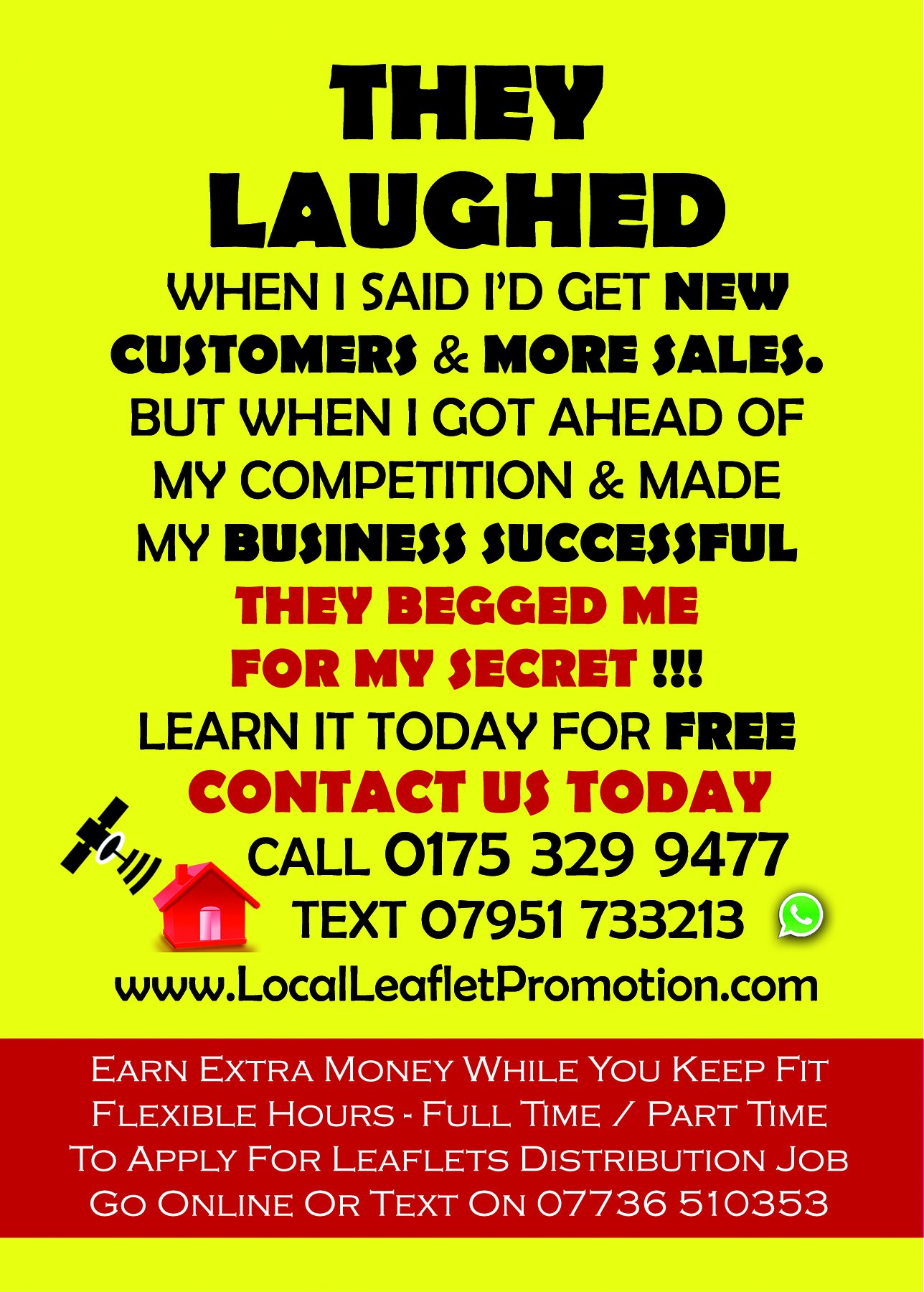 get more sales via leaflet distribution in slough